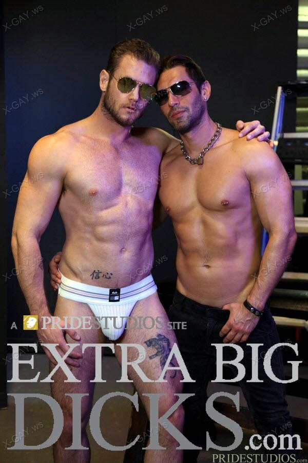 ExtraBigDicks: Alexander Garrett, Ace Era (Sex Club Fucking)