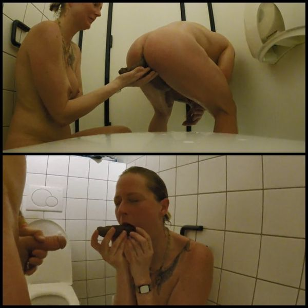 Shit snack on the sauna loo with scatsusan | Full HD 1080p | Release Year: December 7, 2017