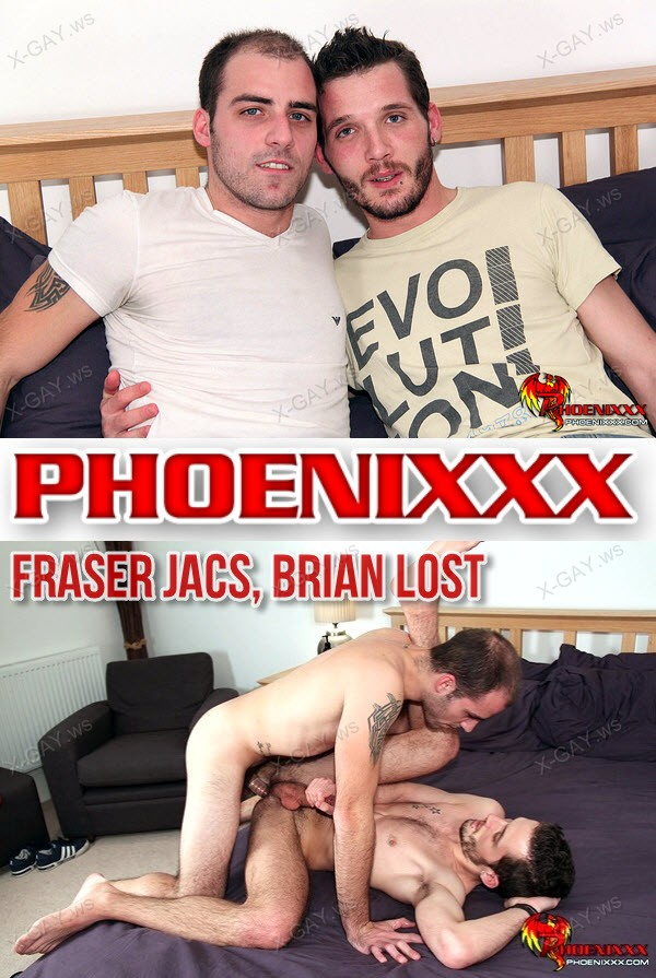 PhoeniXXX: Fraser Jacs, Brian Lost (A Great Fuck and A Lot Of Cum)
