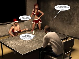 [3D Porn Comic] [Tom Reynolds] Christmas Cheer [yuri]