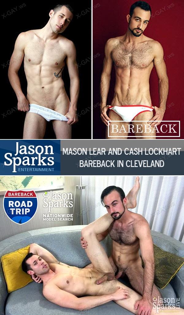 JasonSparksLive: Mason Lear and Cash Lockhart BAREBACK in Cleveland