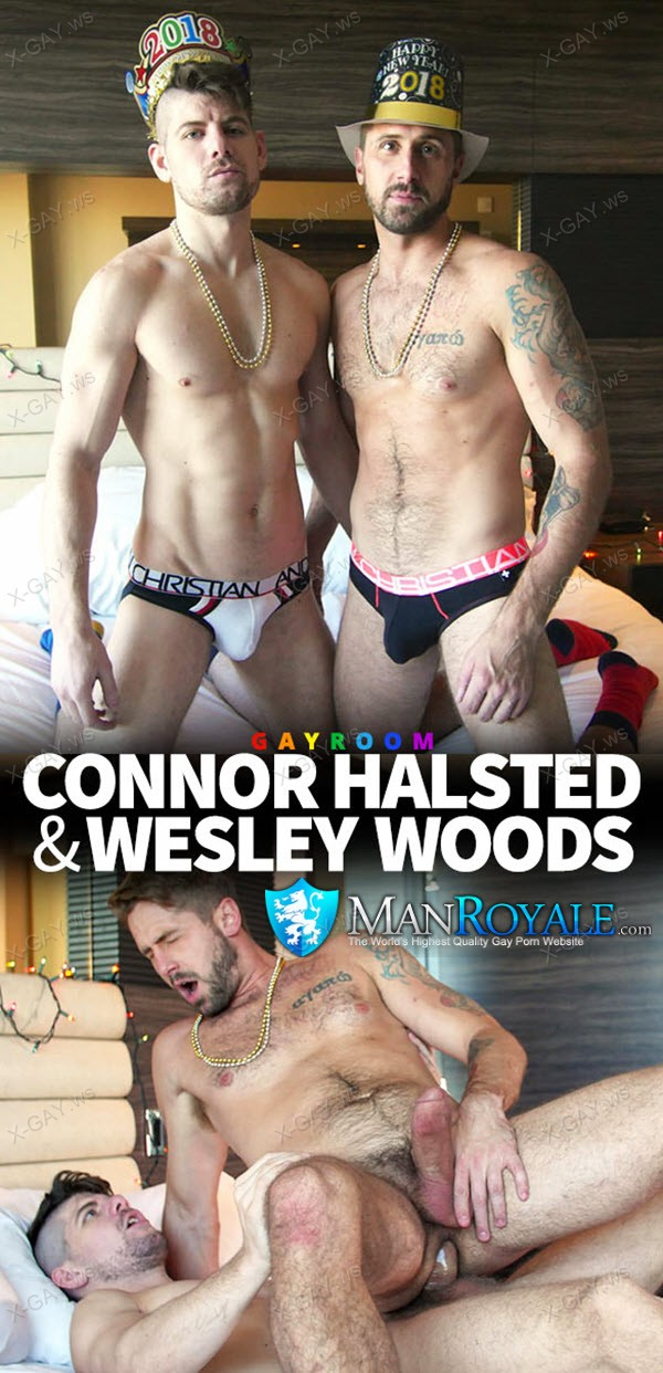 ManRoyale: Connor Halsted, Wesley Woods (Happy New Year)