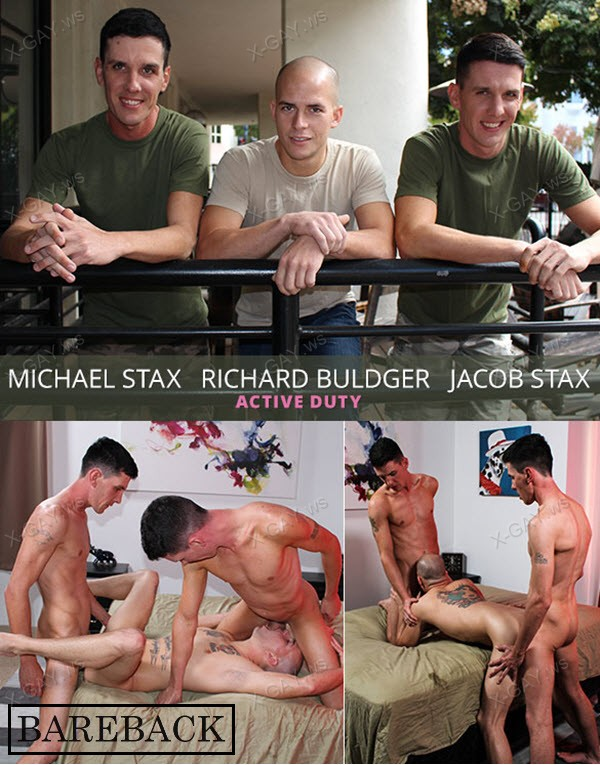 ActiveDuty: Richard Buldger, Jacob Stax, Michael Stax