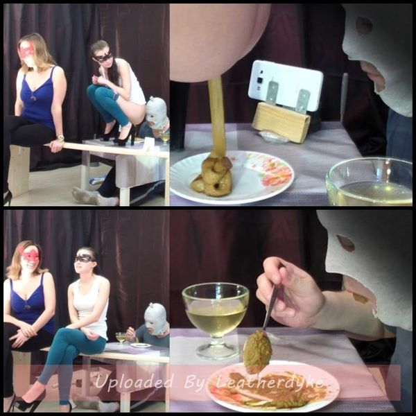2 mistresses cooked a delicious shit breakfast for a slave with Smelly Milana | Full HD 1080p | Release Year: April 10, 2018