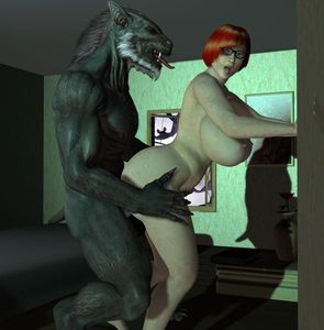 [3D Porn Comic] [Chupacabra] Velma And The Garou (Scooby-Doo) [monster]