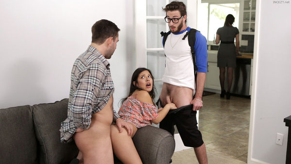 Family Threesome – Jasmine Gomez HD [Untouched 1080p]