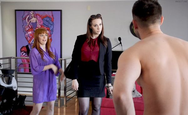 Chanel Preston & Penny Pax – Happy Mother's Day: Son Fucks StepMom Chanel Preston & Slut Girlfriend HD