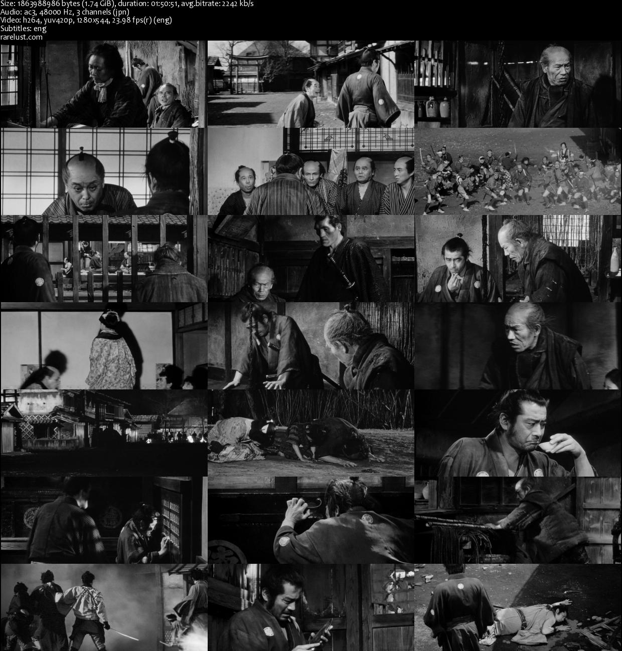 Download Film Yojimbo 1961