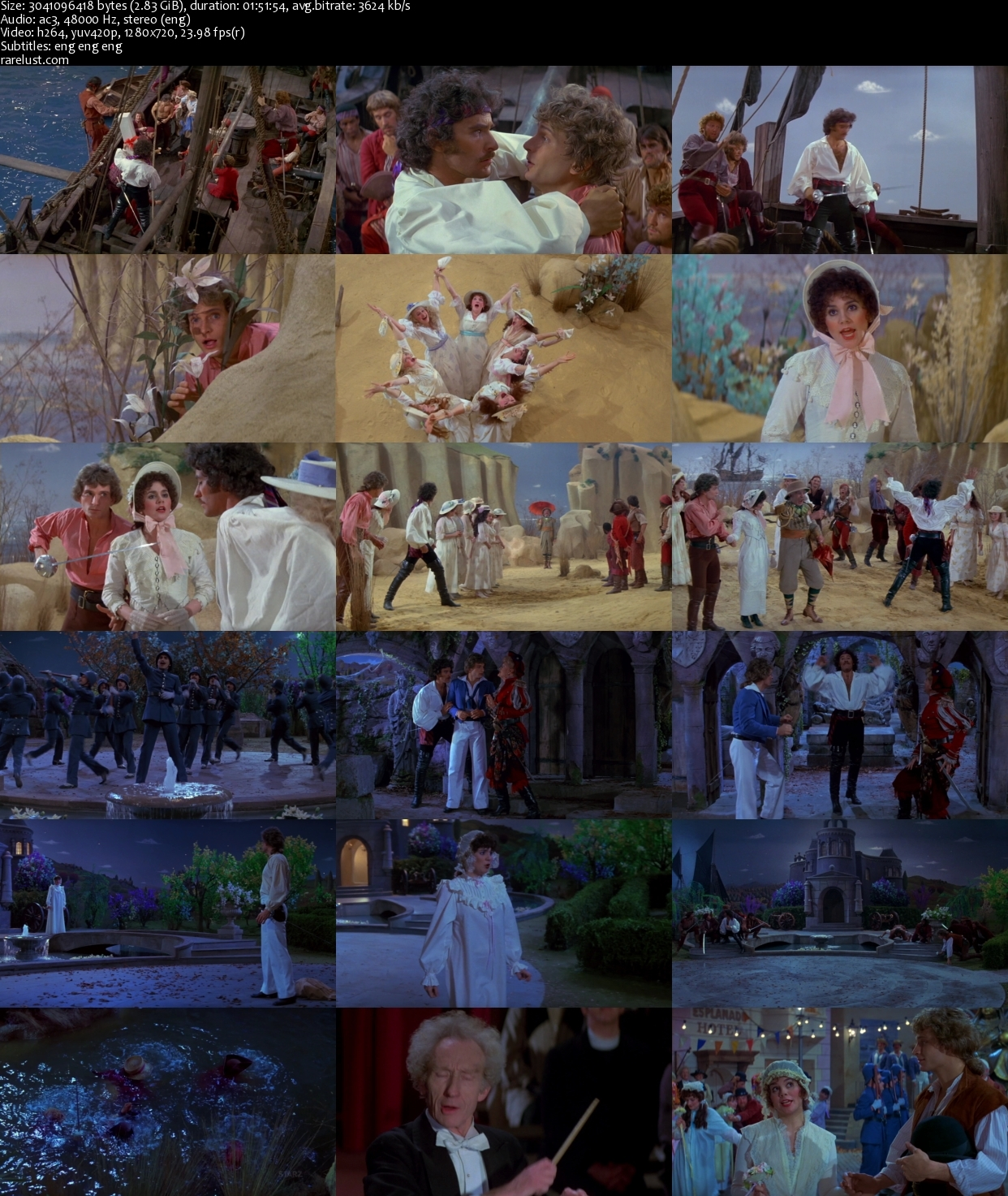 Satellite Tv For Rv >> The Pirates of Penzance (1983) Webrip [2.83GB]