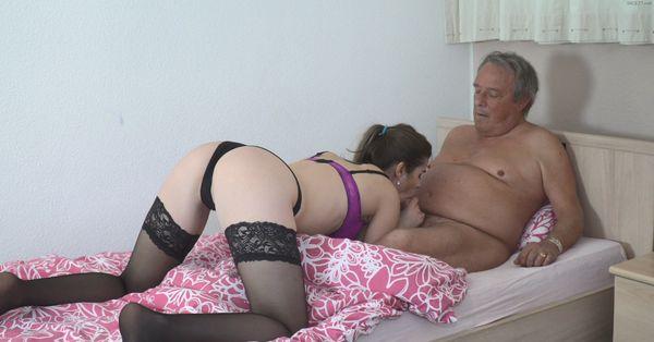 Very Horny Granddaughter HD