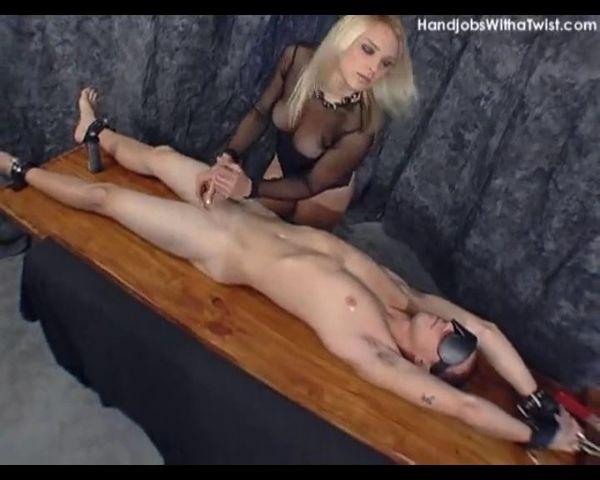 Bondage breast free video