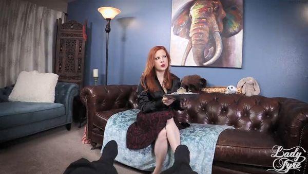 Therapist Gives Satin Handjob – Lady Fyre HD