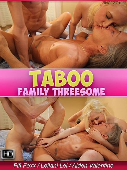Taboo Family Threesome (2016)