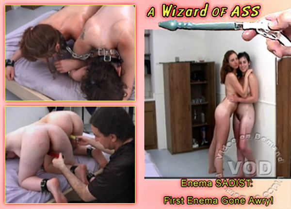 [A Wizard Of Ass] Enema Sadist – First Enema Gone Awry (2008) [Tempestt]