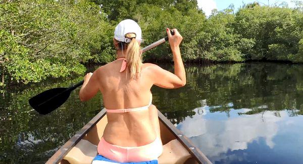 Jodi West in Mom's Canoe Ride Handjob HD