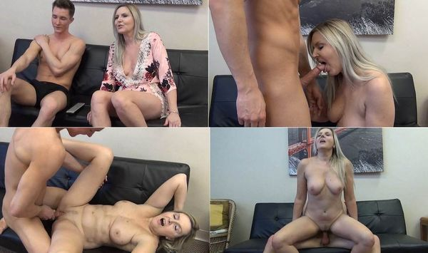The husband fucks in the ass