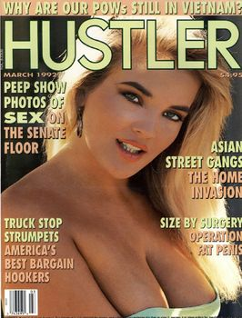 mcaii068f9ai Hustler USA   March 1992 (Magazine)