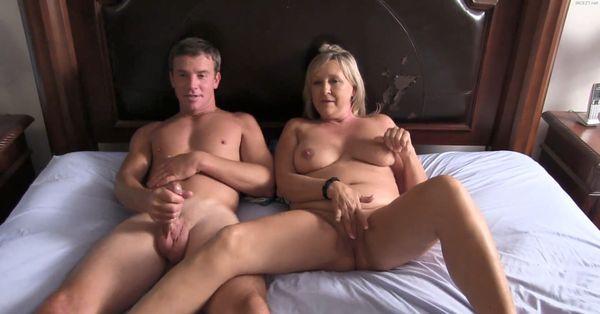 Mom And Her Boy Masturbate Together HD