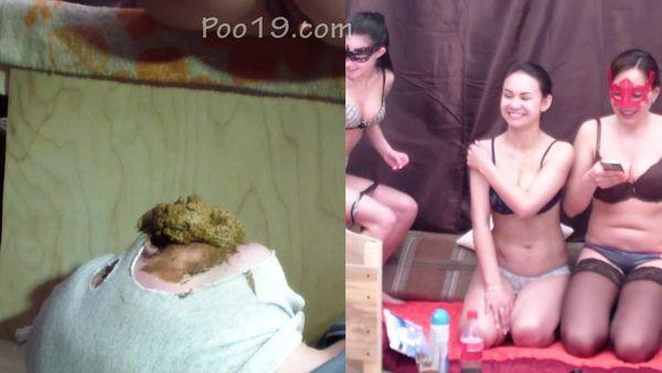 [Poo19] Cristina - Comfortable Live Toilet For 3 Princesses (1080p)
