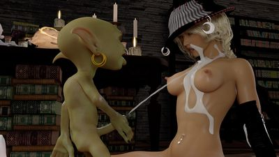 [3D Porn Comic] [3DZen] Practicing Witchcraft Chapter 2 [rape]