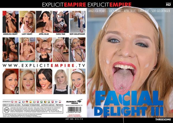 [Explicit Empire] Facial Delight #3 (2018) [Angelica Heart]