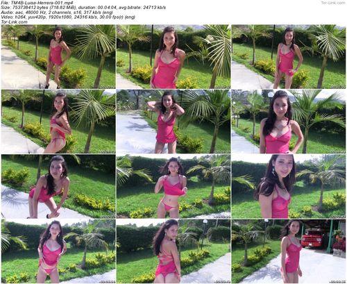 TeenModels4Bitcoin Luisa Herrera - video 1 Pink Lingerie