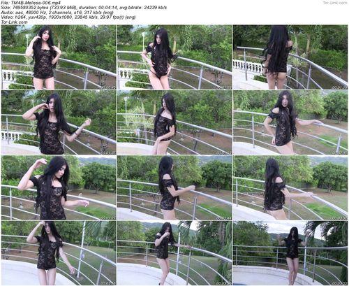 TeenModels4Bitcoin Melissa - video 6 Black Lingerie