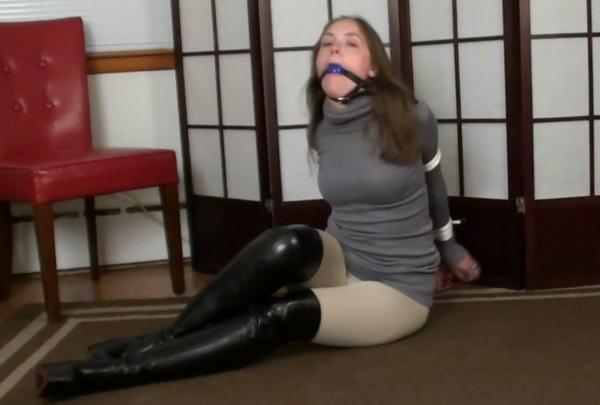 Bound Gagged Lesbian Bondage