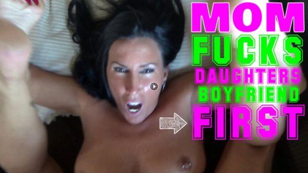 Katie71 – Mom Fucks Daughter's Boyfriend's First HD