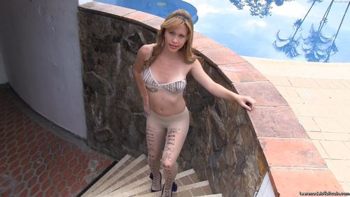 TeenModels4Bitcoin Mary - video 11 Striped Top