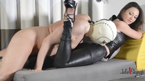 Forced Cum Eating And Whipping - Julie Skyhigh - FetishMania (1.68 GB)