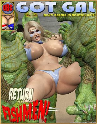 [3D Porn Comic] [DangerBabeCentral] Return of the Fishermen [rape]