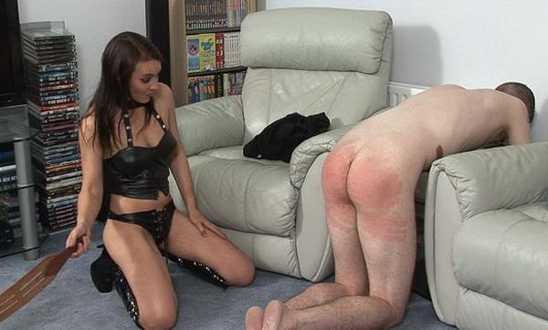 Femdom spanking video trailers #6