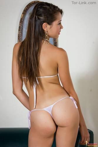 TeenModels4Bitcoin Angelita - set 4 White Bikini