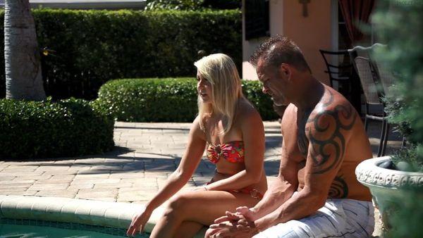 Teen in Bikini Valerie White Tempts and Fucks Her Dad HD
