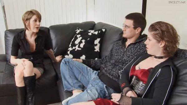 Slutty MILF Fucks her Sisters Boyfriend while she Resting HD 1080p