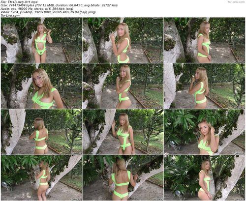 TeenModels4Bitcoin Azly - video 11 Green Ribbons