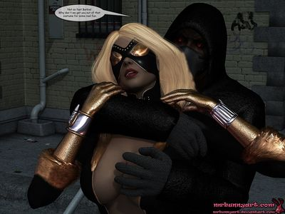 [3D Porn Comic] [MrBunnyArt] Night Vixen vs Cain [public sex]