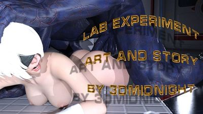 [3D Porn Comic] [3DMidnight] Lab Experiment [rape]
