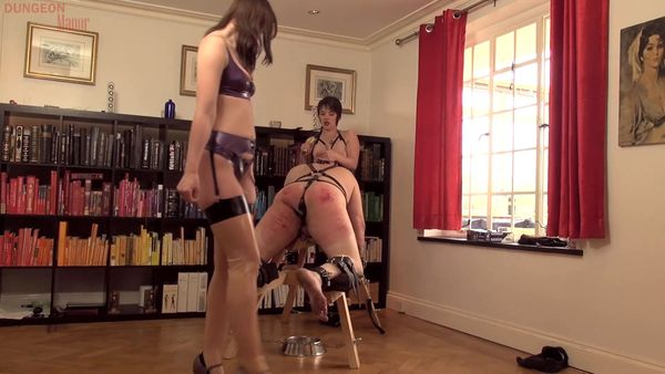 Dungeon Whipping And Bondage