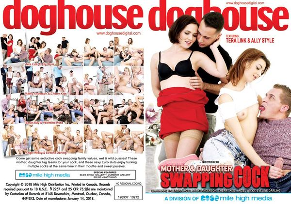 [Doghouse Digital] Mother And Daughter Swapping Cock #1 (2018) [Angel Wicky]