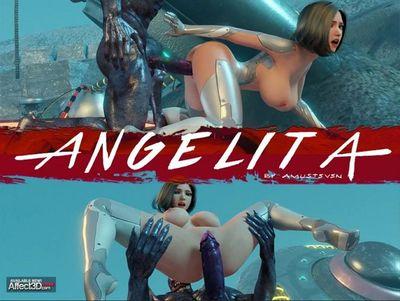 [3D Porn Comic] [Amusteven] Angelita [rape]