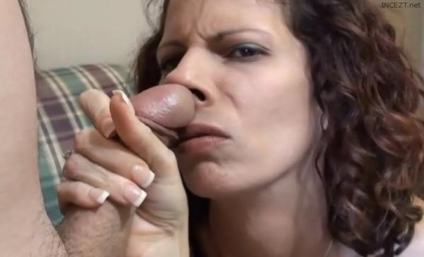 Dominant master makes me sniff his trainers and lick his feet before using my holes bareback