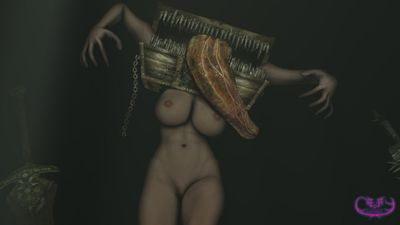 [3D Hentai Artwork] Art by CreepyChimera [alien girl]