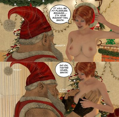 [3D Porn Comic] [DarkCowBoy] RachelI Is Santa's Secret Special Helper [xmas]