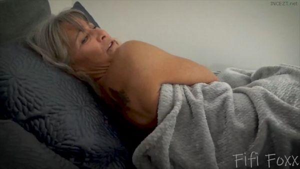 wakes pov son mom sleeping