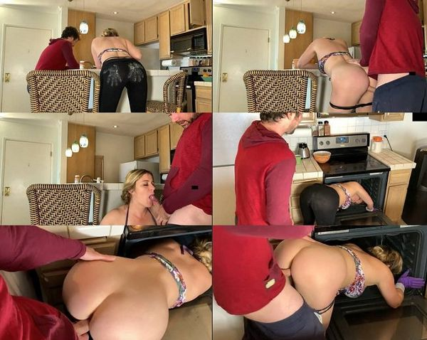 Hot Step Mom Gets Stuck And Fucked Up Her Pussy