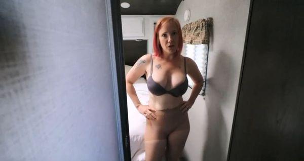 Mom Cures Sons Nylon Pantyhose Fetish – Jane Cane HD 1080p