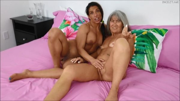 Threesome With Mom and Sis 1080p HD