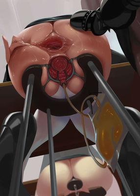 [Hentai Artwork] Art by Uchuu [anal gaping]